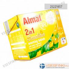 Таблетки Almat 2in1 для стирки для белого и цветного белья 36шт