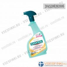 Чистящее и дезинфицирующее средство Sanytol 500мл (желт)