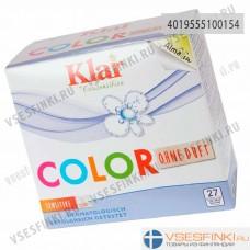 Стиральный порошок Klar Color гипоаллергенный 1,375кг