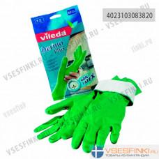 Перчатка Vileda Dermo Plus L 1шт