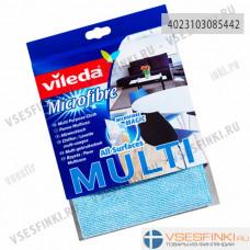 Чистящая салфетка Vileda MULTI Microfibre 1шт