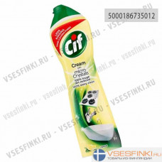 Чистящий крем CIF (лимон) 500 мл для кухни