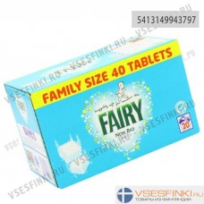 Таблетки для стирки Fairy Non Bio 40 шт