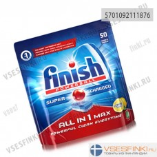 Таблетки для п/м: Finish All-in-One 50шт.