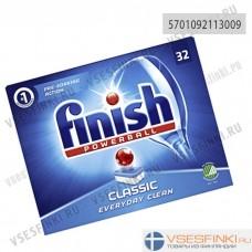 Таблетки для п/м: Finish Classic 32шт.