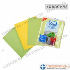 Ткань SINI для сухой уборки 18*20 3шт