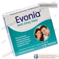 Витамины Evonia Anti Grey Hair, против поседения, 60 табл.