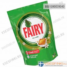 Таблетки для п/машины Fairy ваниль 60шт