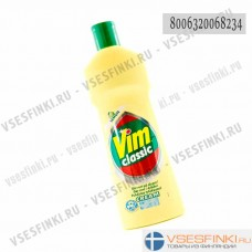 Крем чистящий лимон Vim 500мл