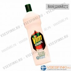 Крем чистящий без запаха Vim 500мл