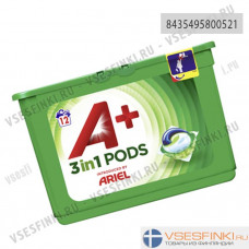 A+ Ariel 12шт 3in1 Pods White
