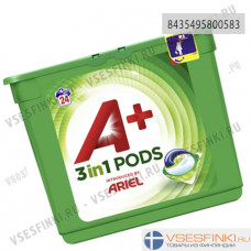A+ Ariel 24шт 3in1 Pods White