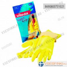 Перчатка Vileda Super Grip M 1шт