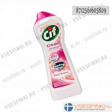 Крем Cif (розовые цветы) 500 мл