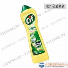 Чистящий крем CIF (лимон) 500 мл