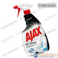 Очищающий спрей Ajax WC Power 750мл