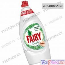 Fairy 900мл Sensitive (чайное дерево и мята)