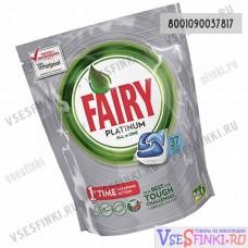 Таблетки для п/м Fairy 37шт Platinum-Blue