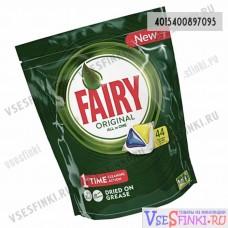 Таблетки для п/м Fairy 44шт Original-(Лимон)