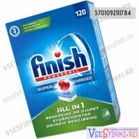 Таблетки FINISH All in One для п/машины 112шт.