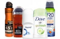 Дезодоранты и антиперспиранты