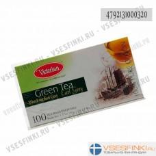 Чай Victorian (зелёный с бергамотом) 100пак