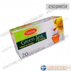 Чай Victorian (зелёный с медом) 20пак