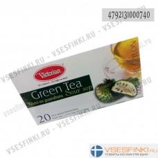 Чай Victorian (зелёный с гуанабана) 20пак