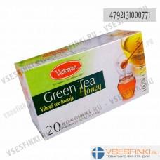 Чай Victorian (зелёный с медом) 100пак