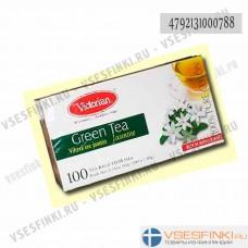 Чай Victorian (зелёный с жасмином) 100пак