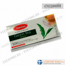 Чай Victorian (зелёный) 100 пак