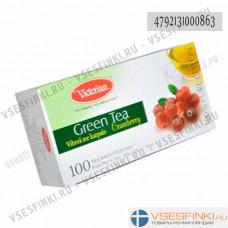 Чай Victorian (зелёный с клюквой) 100пак