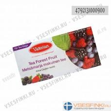 Чай Victorian (чёрный с ягодами) 100пак
