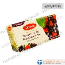 Чай Victorian (чёрный с ягодами) 20пак