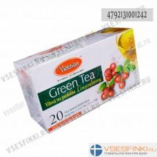 Чай Victorian (зелёный с брусникой) 100пак