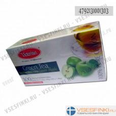 Чай Victorian (зелёный с яблоком) 100пак