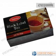 Чай Victorian (чёрный) 100 пак