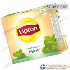 Чай Lipton Infusion Herbal Mint 100 пак
