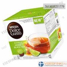 Nescafe Dolce Gusto Citrus Honey Black Tea 16шт