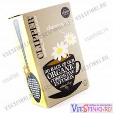 Чай Clipper органический ромашковый чай 20 пакетиков