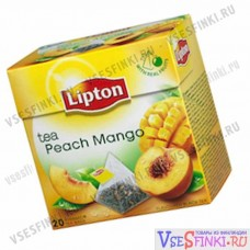 Чай Lipton с персиком и манго 20пак.