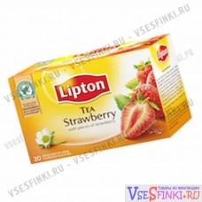 Чай Lipton Strawberry 20 пакетиков