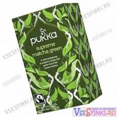 Чай Pukka зеленый чай 20 пакетиков