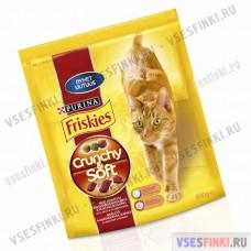 Friskies Chunchy&Soft (говядина и телятина) 800гр