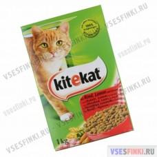 Корм для кошек KITIKAT (Оленина) 1кг