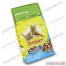 Корм FRISKIES для взрослых кошек (тунец-овощи) 2кг