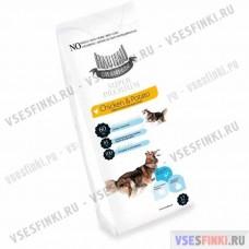 Корм Hau-Hau для взрослых собак (Курица-картофель) 12кг
