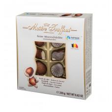 """Конфеты шоколадные Maitre Truffout  """"Дары моря"""" с начинкой пралине, 250 г"""