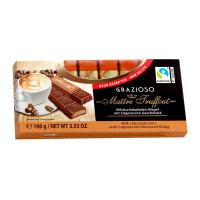 "Шоколад Maitre Truffout ""Capuccino"" в мини-батончиках, 100г"