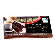 """Шоколад Maitre Truffout  темный """"Espresso"""" в мини-батончиках, 100 г"""